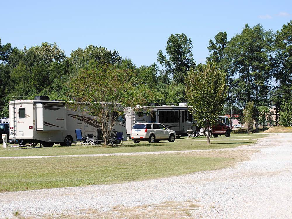 The Woods RV Park Campground - Montgomery campgrounds ...