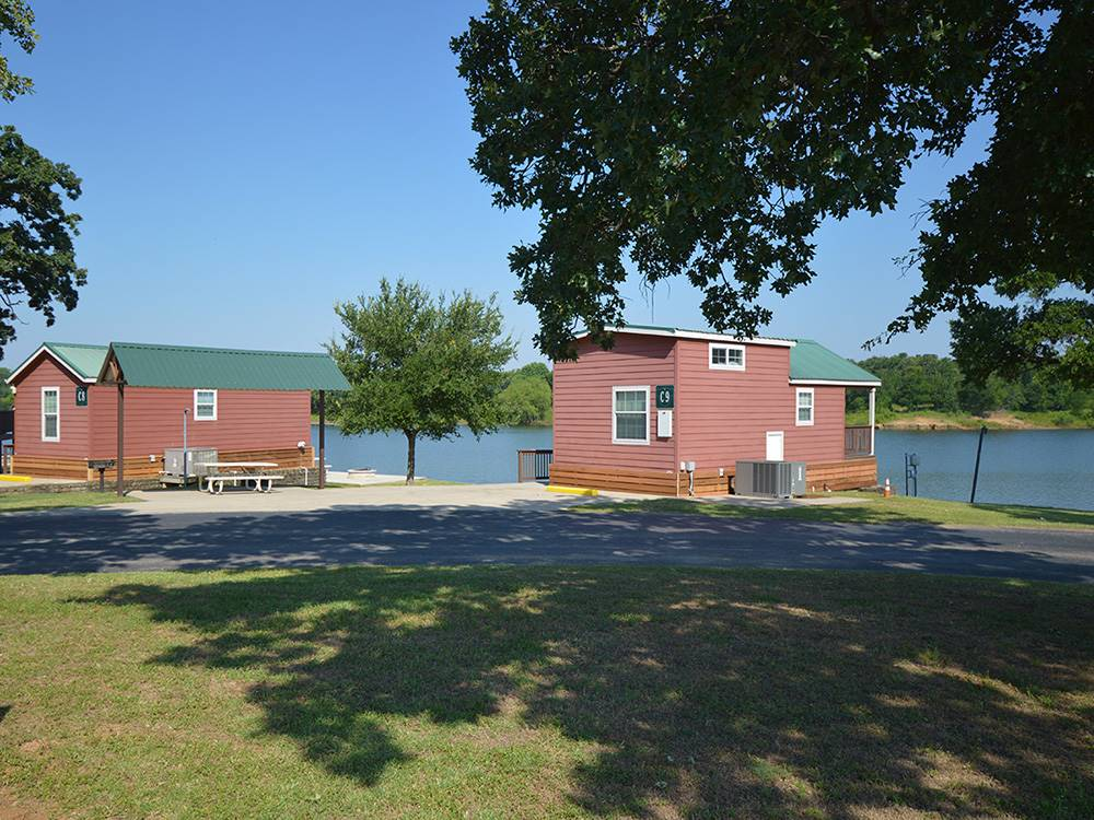 The Vineyards Campground Amp Cabins Grapevine Tx Rv