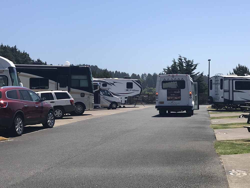 Logan Road Rv Park Lincoln City Or Rv Parks And