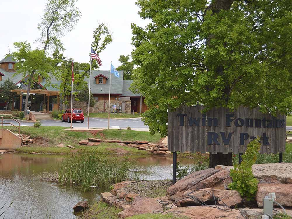 Twin Fountains Rv Resort Oklahoma City Campgrounds