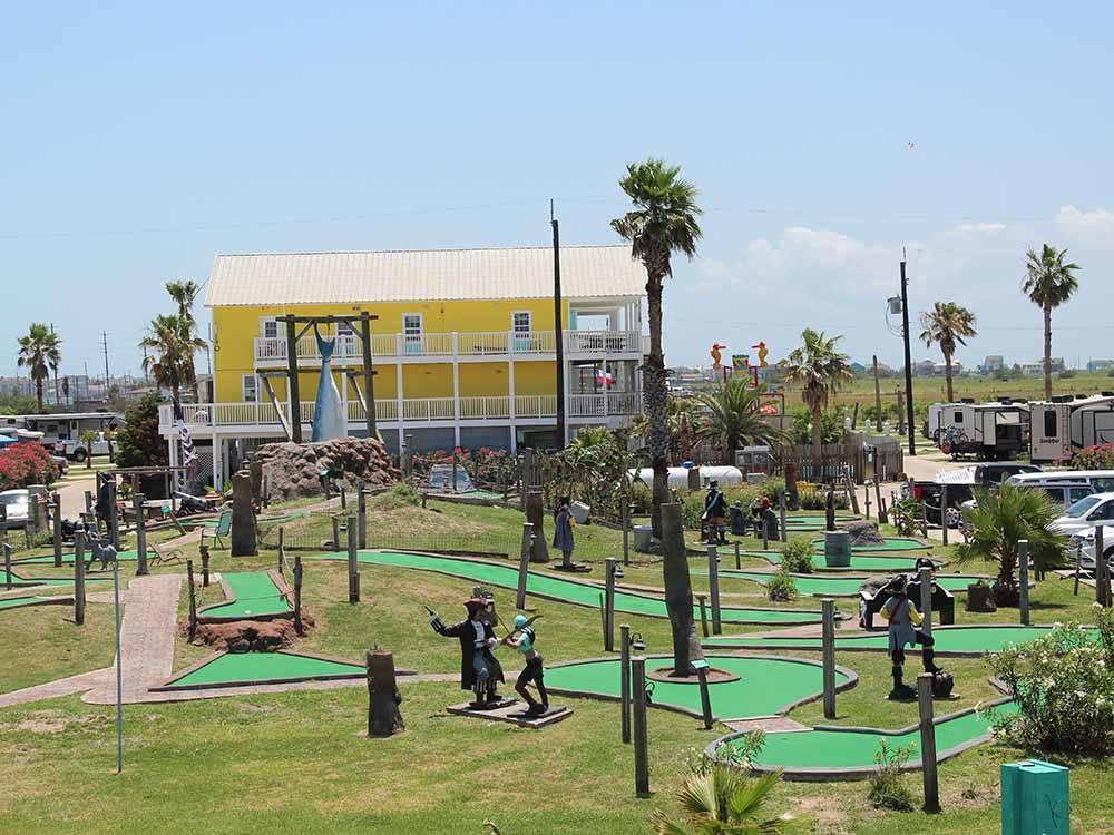 Jamaica Beach Rv Resort At Galveston Tx