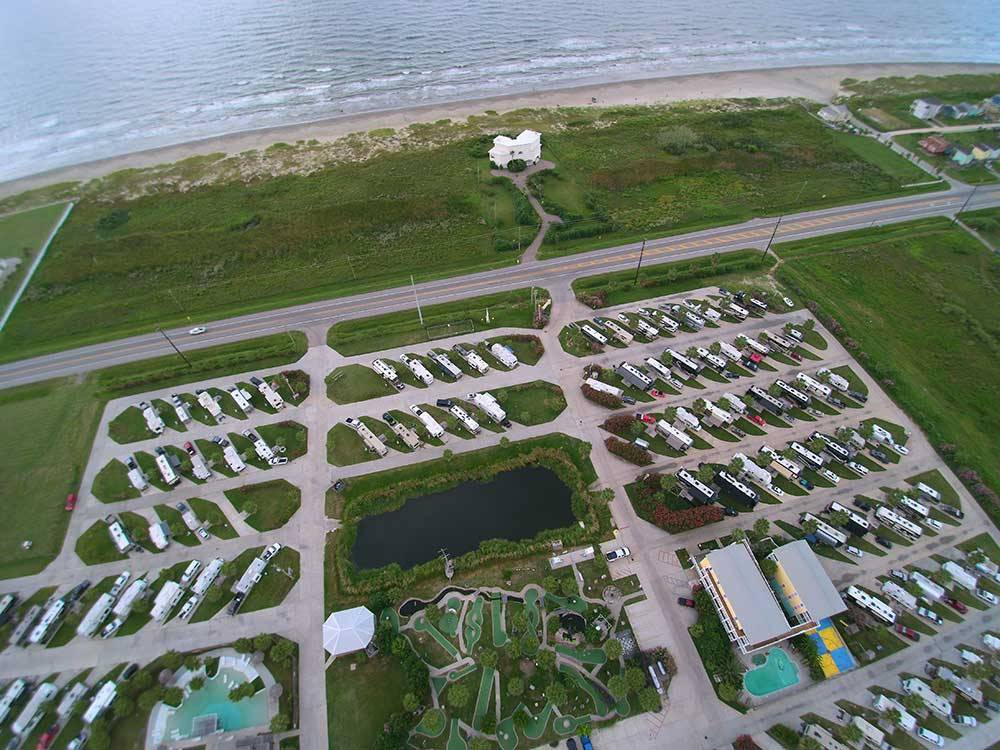 Jamaica Beach Rv Resort Galveston Campgrounds Good Sam