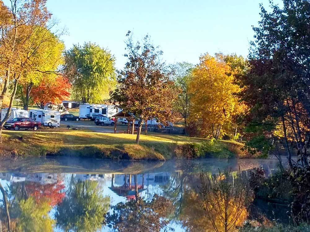 Trailers camping at AOK CAMPGROUND  RV PARK