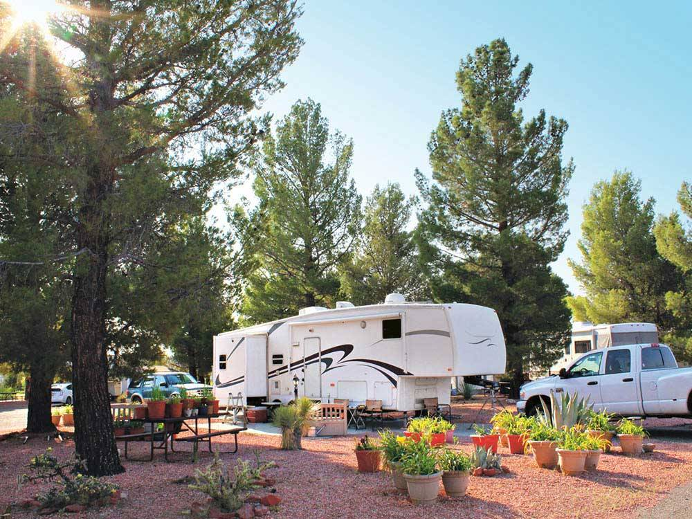 Verde Valley Rv Camping Resort Cottonwood Campgrounds
