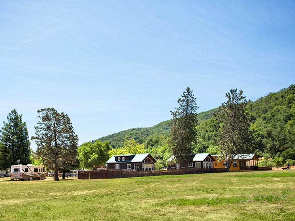 Lodging at MORGAN HILL RV RESORT