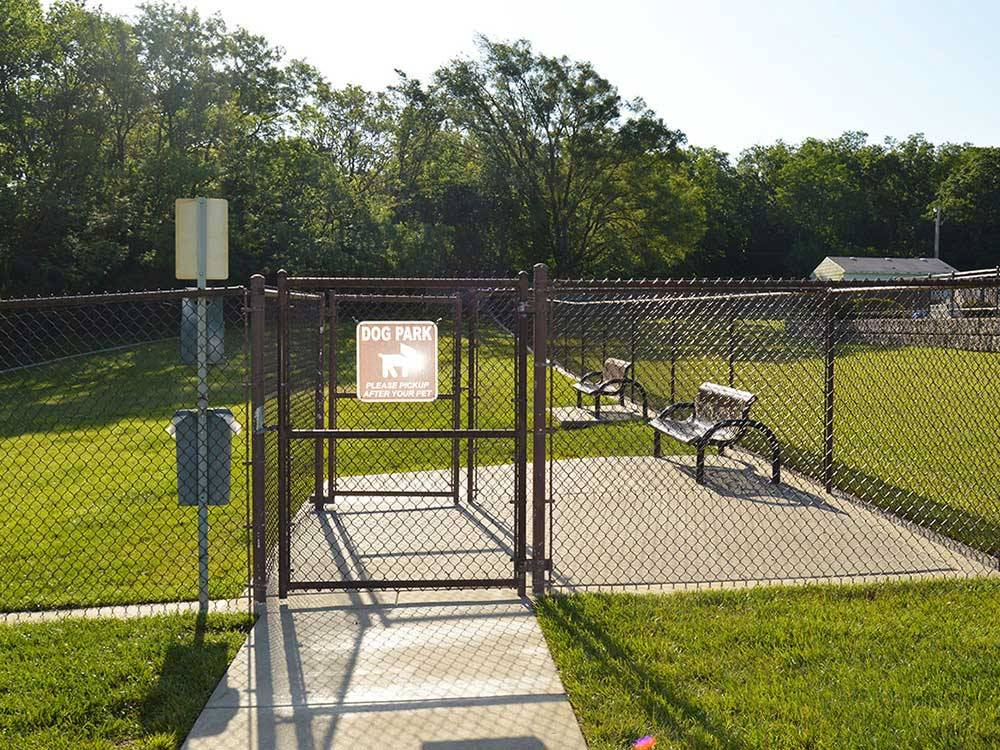 Deer Creek Valley Rv Park At Topeka Ks