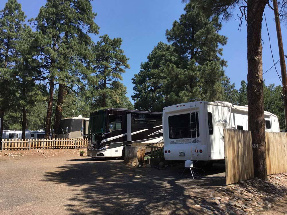 GREERS PINE SHADOWS RV PARK at FLAGSTAFF AZ