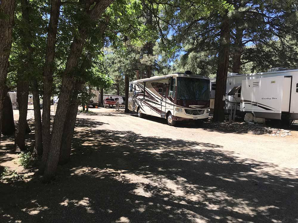 Greers Pine Shadows Rv Park Flagstaff Campgrounds Good