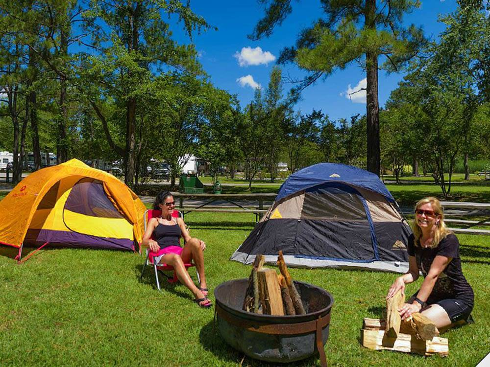 Holiday Trav L Park Virginia Beach Va Rv Parks And