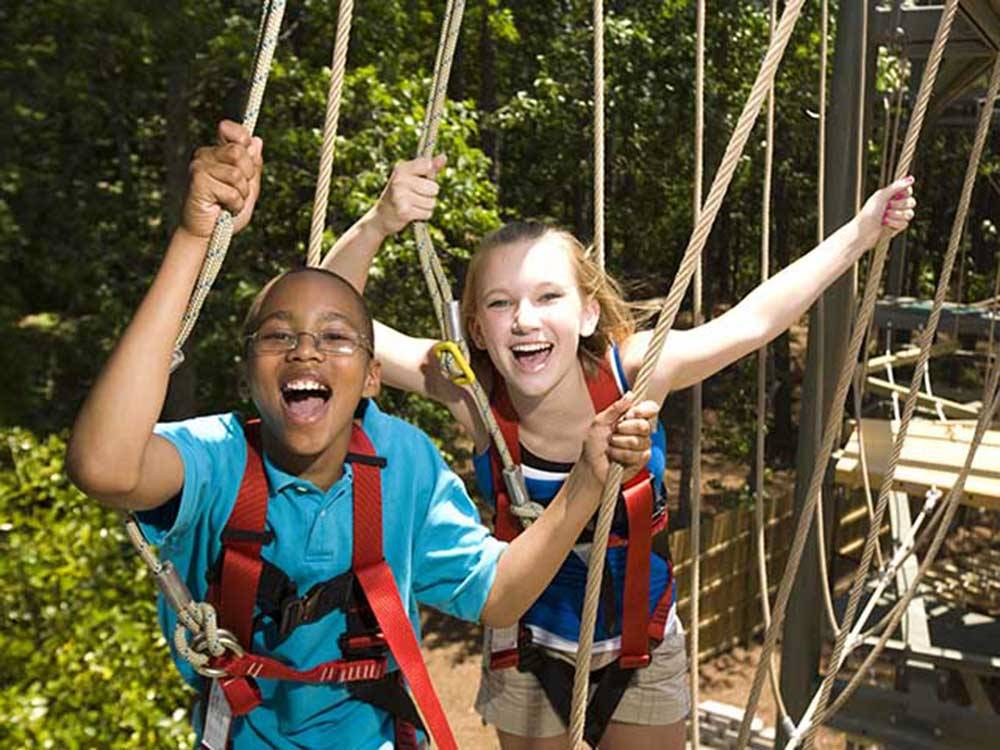 About SMMA. The Stone Mountain Memorial Association partners with Herschend Family Entertainment, who manages the commercial aspects of the Park – Attractions, Special Events, Camping, the Laser Show, and many other venues within the Park.