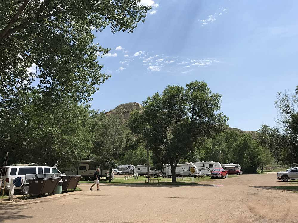 Red Trail Campground Medora Campgrounds Good Sam Club