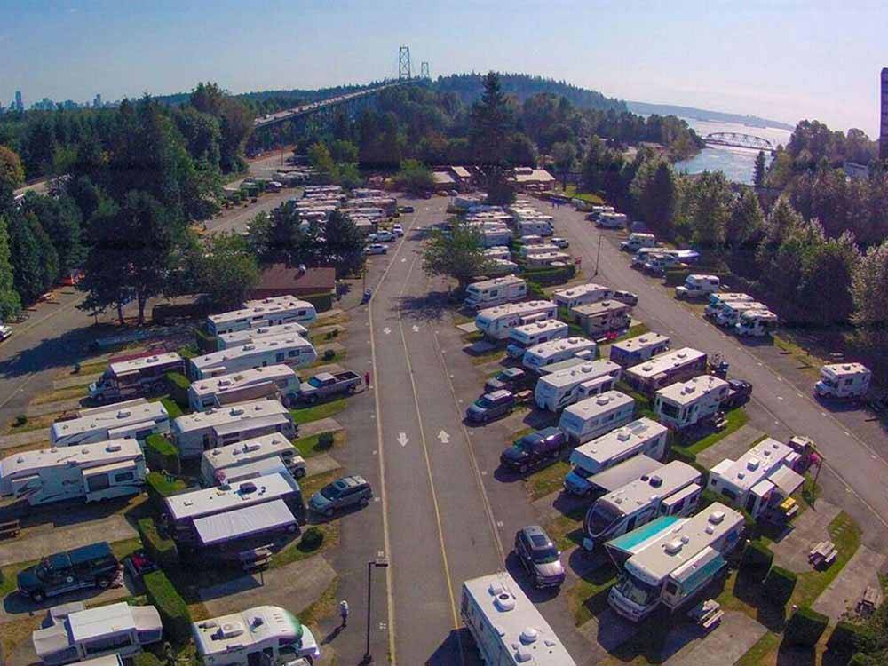CAPILANO RIVER RV PARK At WEST VANCOUVER BC