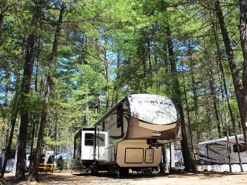 pine acres resort raymond campgrounds good sam club. Black Bedroom Furniture Sets. Home Design Ideas