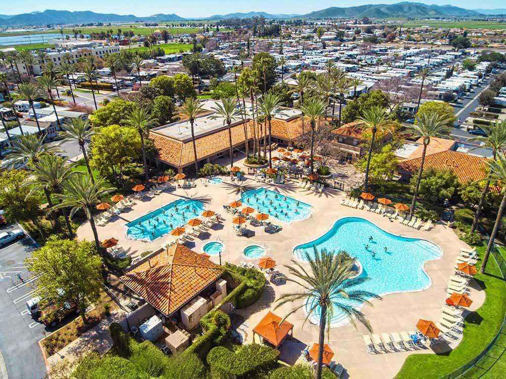 Golden Village Palms Rv Resort Sunland Hemet