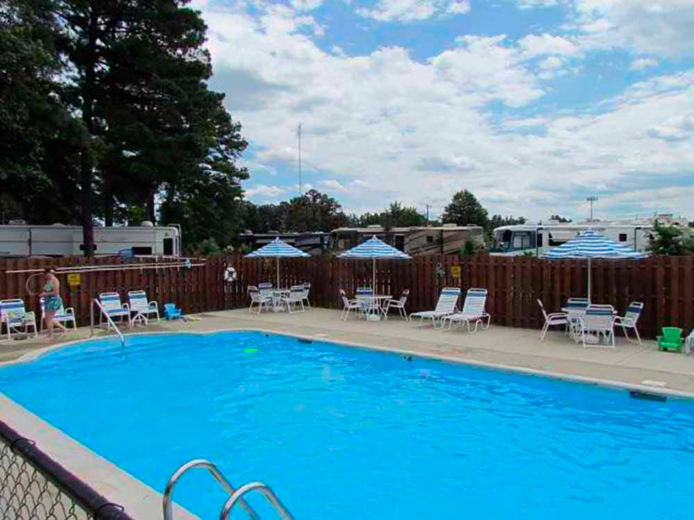 Exercise room at AMERICAMPS RV RESORT