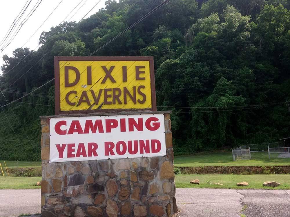 Campground At Dixie Caverns Salem Campgrounds Good Sam