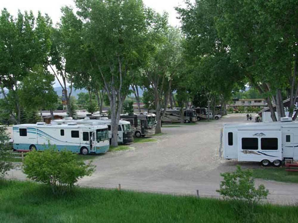 Indian Campground Amp Rv Park Buffalo Wy Rv Parks And