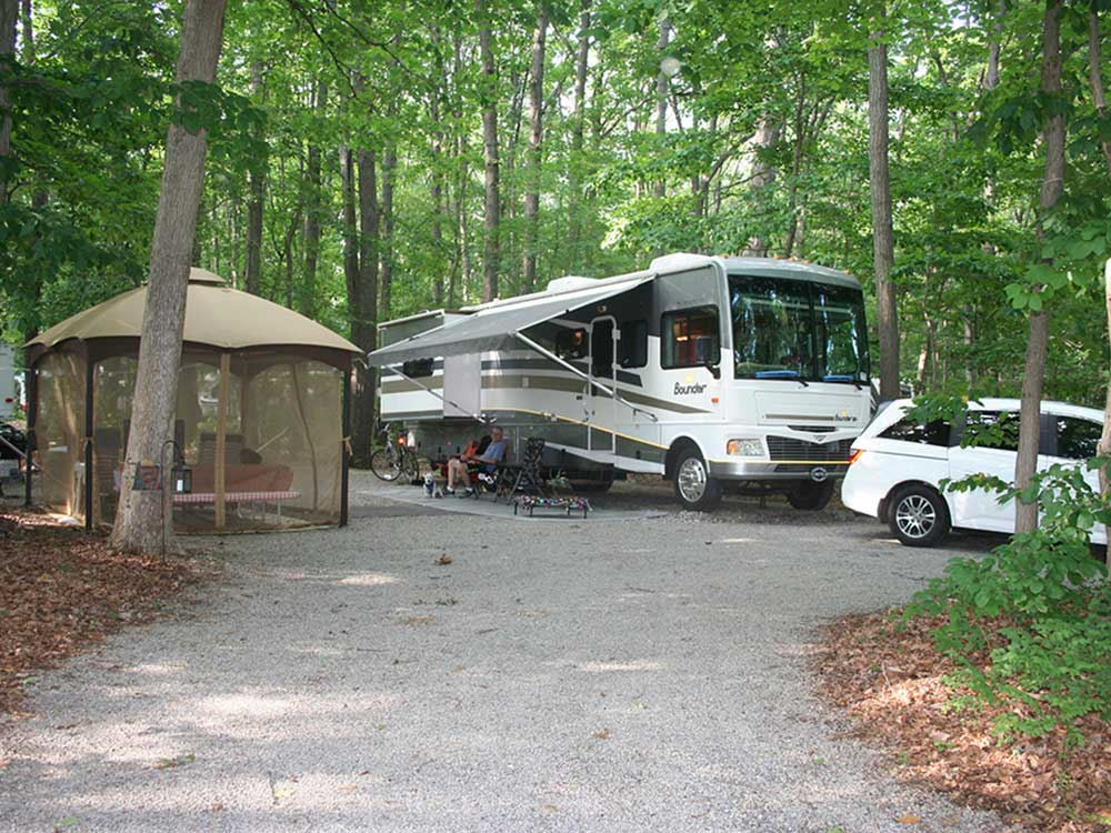 RV camping at MERRY MEADOWS RECREATION FARM