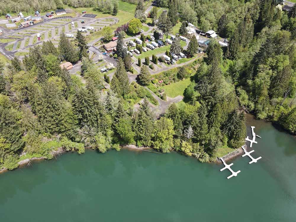 HARMONY LAKESIDE RV PARK AND CABINS At MOSSYROCK WA