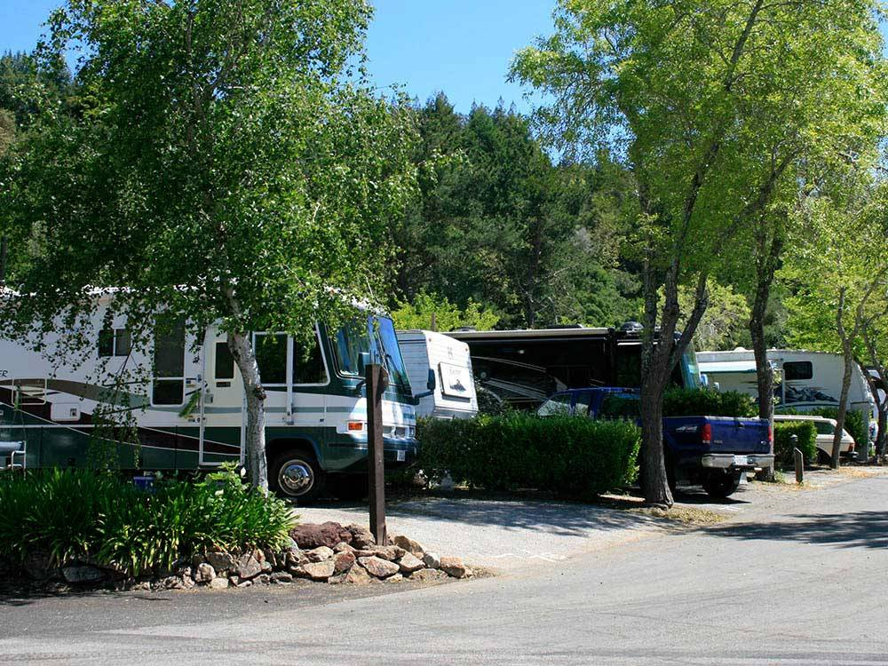 SANTA CRUZ RANCH RV RESORT at SCOTTS VALLEY CA