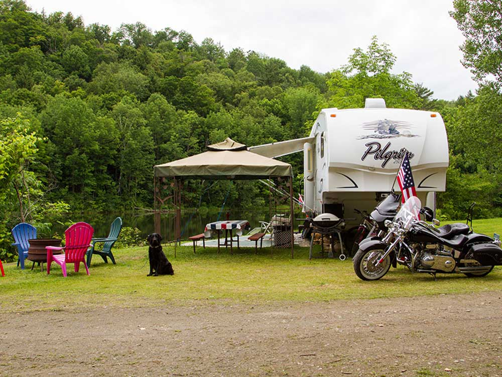 Limehurst Lake Campground Williamstown Vt Rv Parks