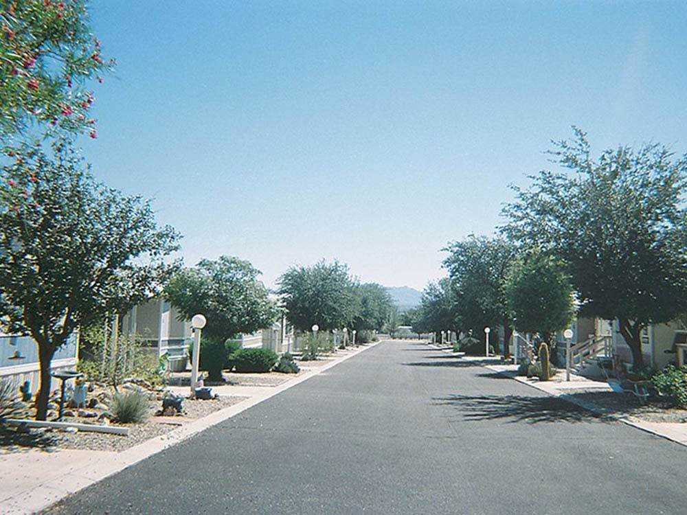 Road leading into campground at SAN PEDRO RESORT COMMUNITY
