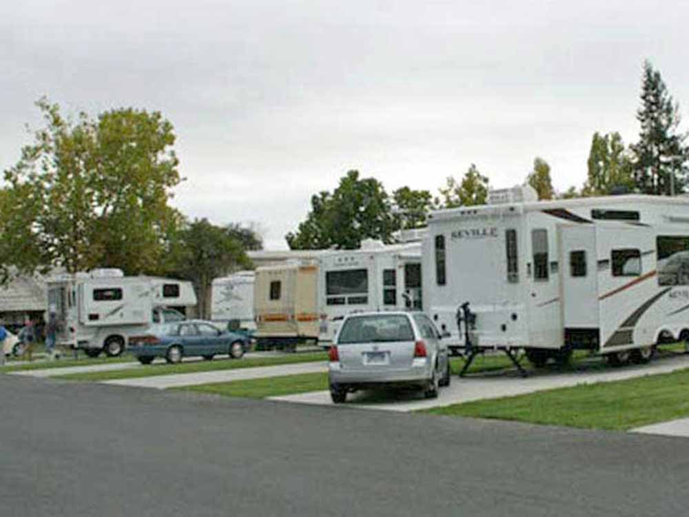 NAPA VALLEY EXPO RV PARK At CA
