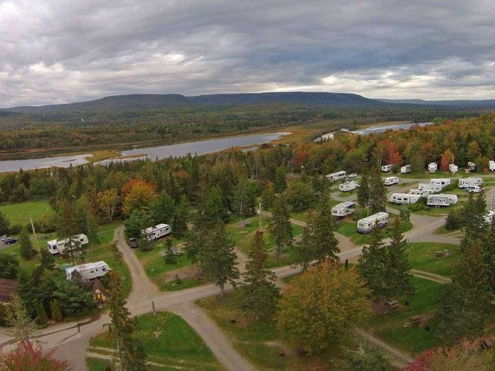 BADDECK CABOT TRAIL CAMPGROUND at BADDECK NS