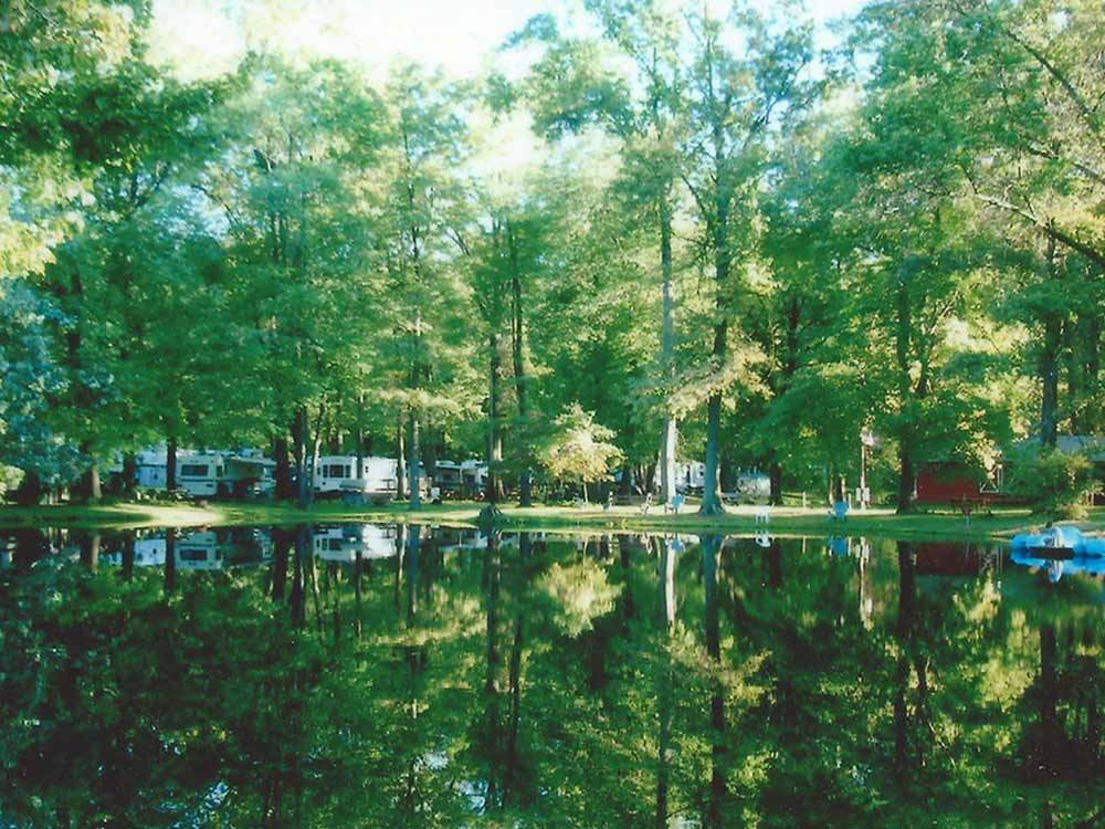 Lake view at CHEROKEE PARK CAMPGROUND