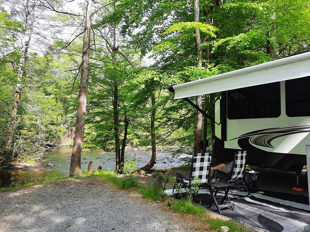 Tent camping at GREENBRIER CAMPGROUND