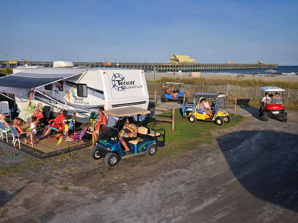 APACHE FAMILY CAMPGROUND PIER At MYRTLE BEACH SC