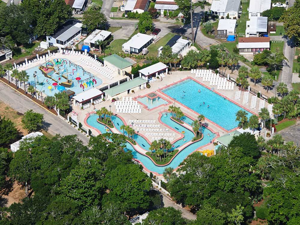 Pirateland Family Camping Resort Myrtle Beach Sc Rv