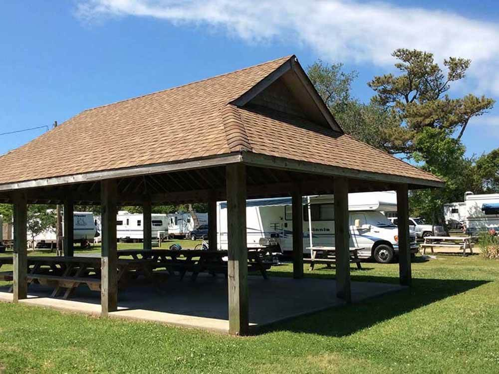 Cape woods campground cabins buxton campgrounds good for Camp sites with cabins
