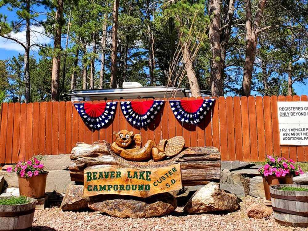 BEAVER LAKE CAMPGROUND at CUSTER SD