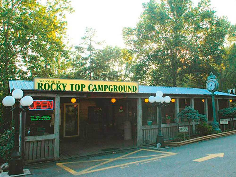 ROCKY TOP CAMPGROUND  RV PARK at KINGSPORT TN