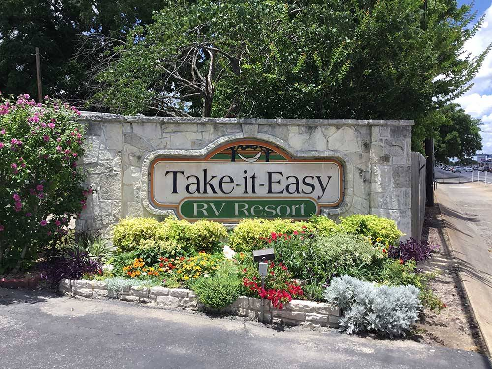 TAKE-IT-EASY RV RESORT at KERRVILLE TX