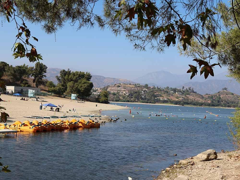 East Shore RV Park San Dimas Campgrounds
