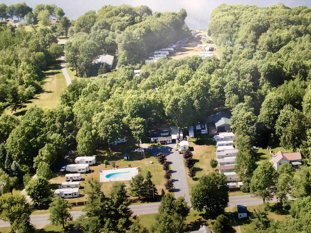 MERRY KNOLL 1000 ISLANDS CAMPGROUND at CLAYTON NY