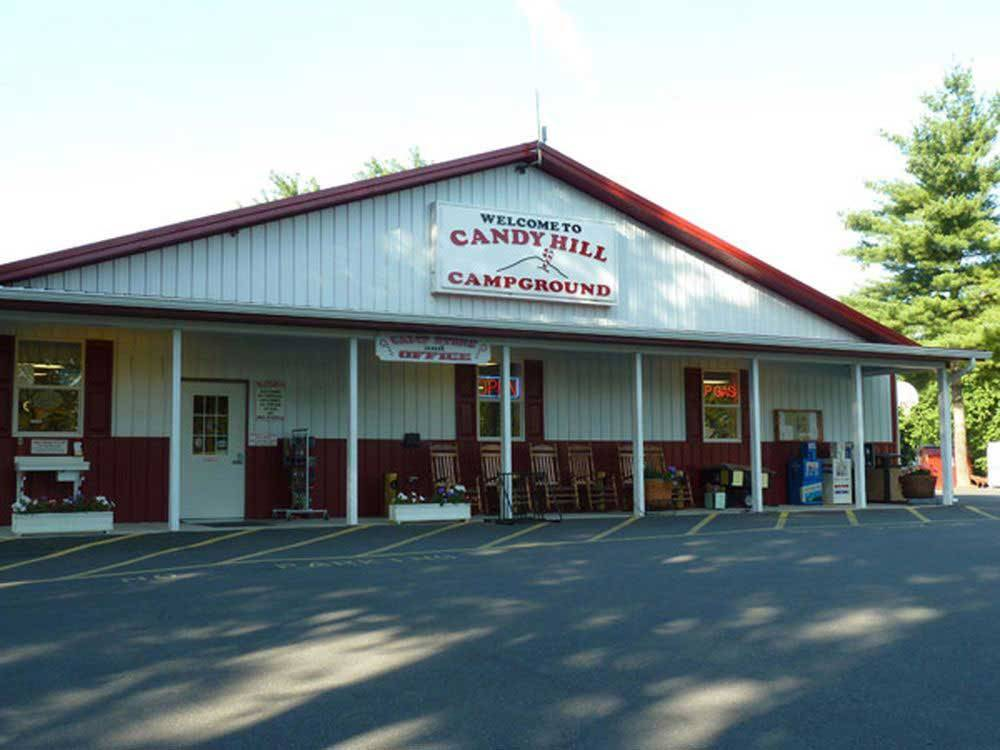 General Store at campground  at CANDY HILL CAMPGROUND