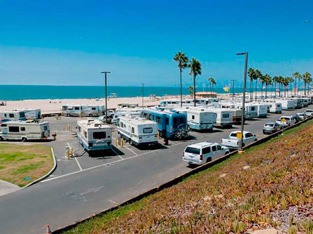 Long beach california rv parks long beach campgrounds rv dockweiler rv park sciox Gallery