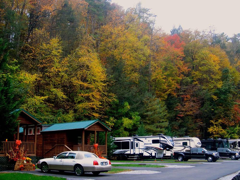 Twin Creek Rv Resort Gatlinburg Tn Rv Parks And