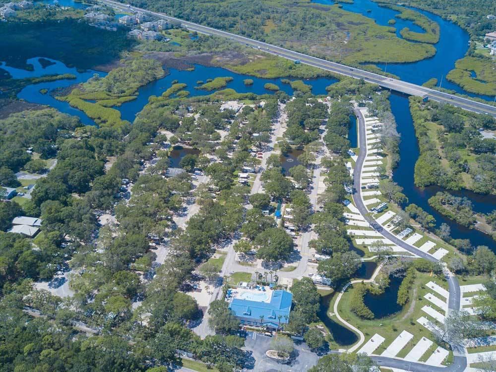 Bay Bayou Rv Resort Tampa Campgrounds Good Sam Club