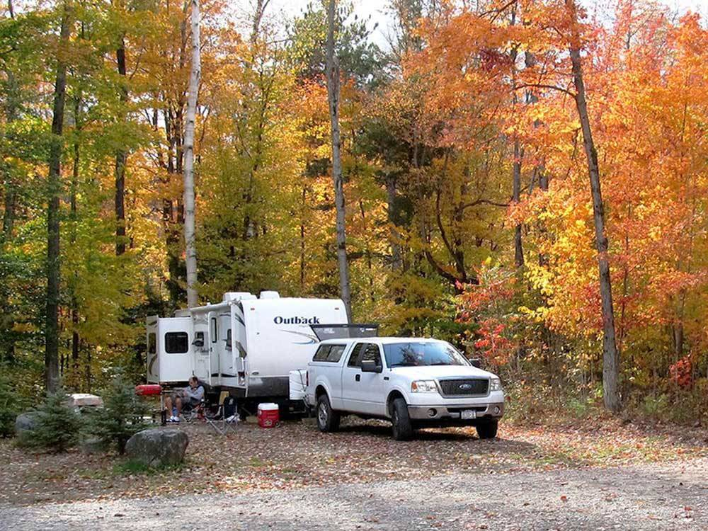 Trailer camping at NORTH POLE RESORTS