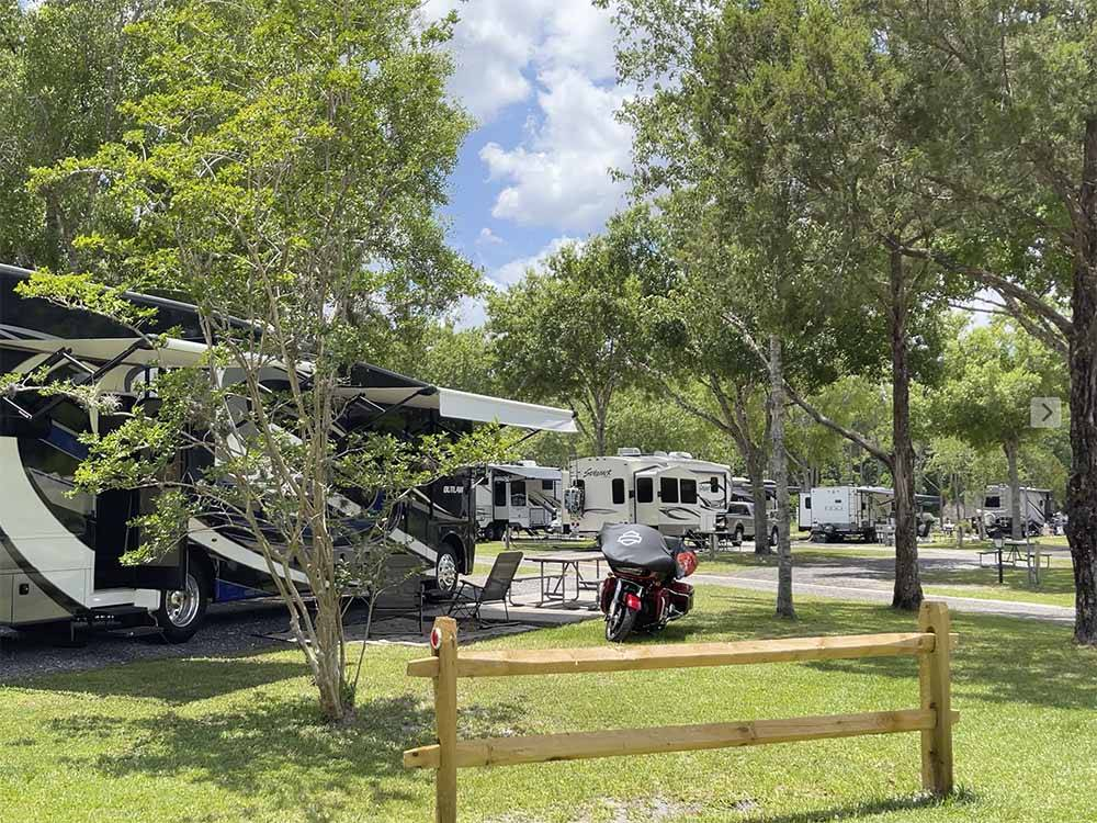 STAGECOACH RV PARK at ST AUGUSTINE FL