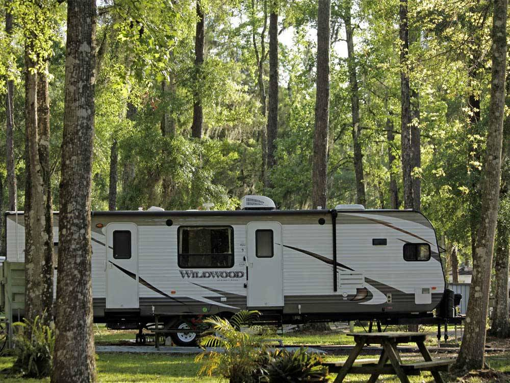 Clover leaf forest rv resort brooksville campgrounds good sam club for Camping world winter garden fl