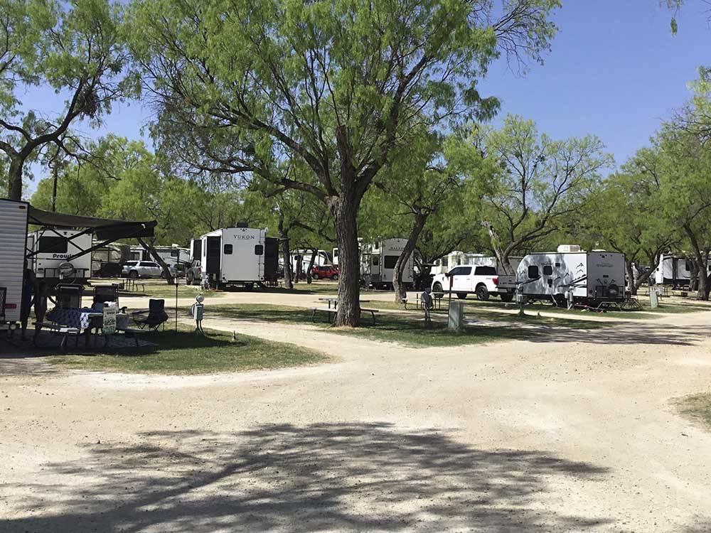 Spring Creek Marina Rv Park San Angelo Campgrounds