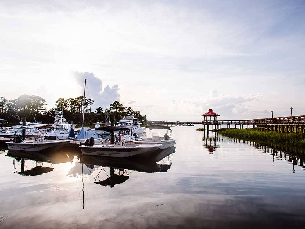 HILTON HEAD HARBOR RV RESORT  MARINA at HILTON HEAD ISLAND SC