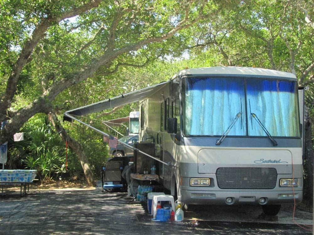 North Beach Camp Resort St Augustine Fl Rv Parks And