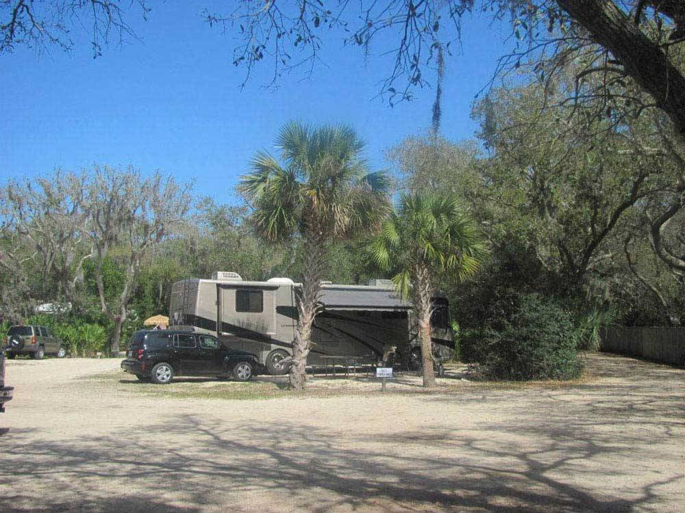 Campgrounds On The Beach In North Florida