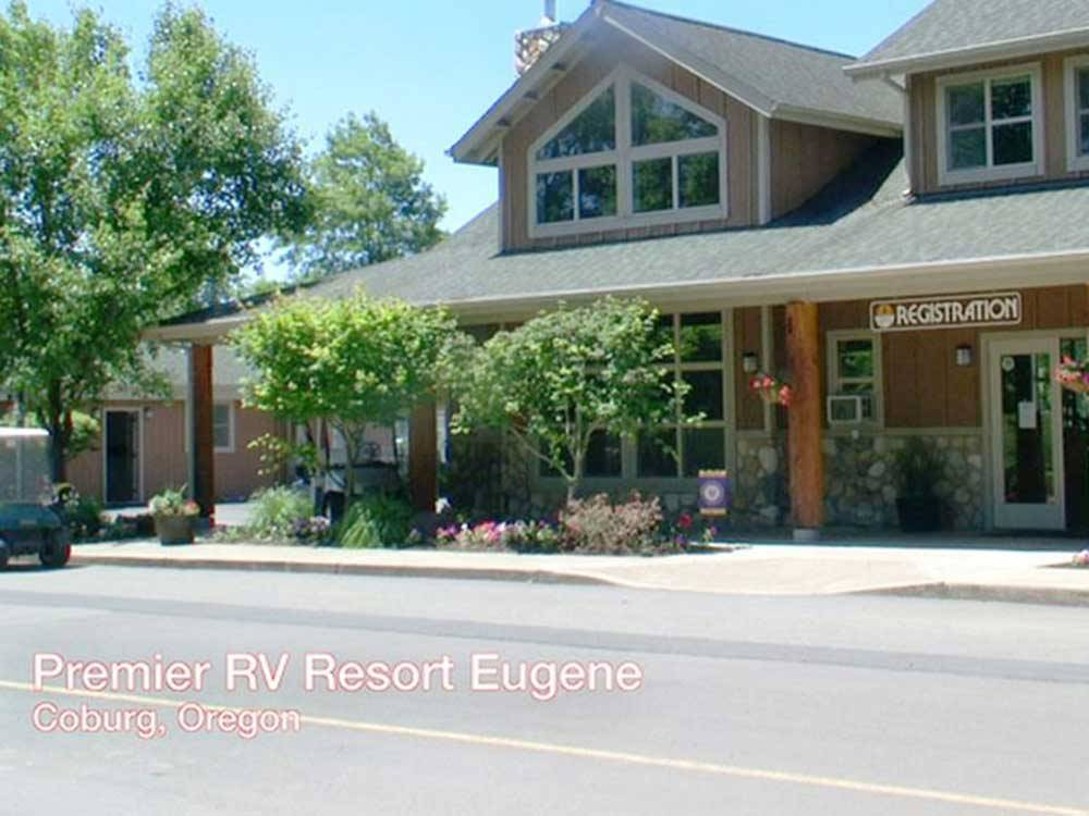 RV parked at PREMIER RV RESORTS - EUGENE